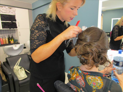 Hair salon Momento Galway hair updo