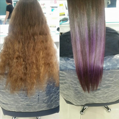 Hair salon Momento Galway hair transformation