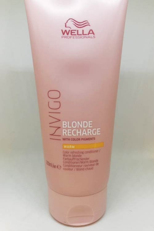 Wella Invigo Blonde Recharge, Warm