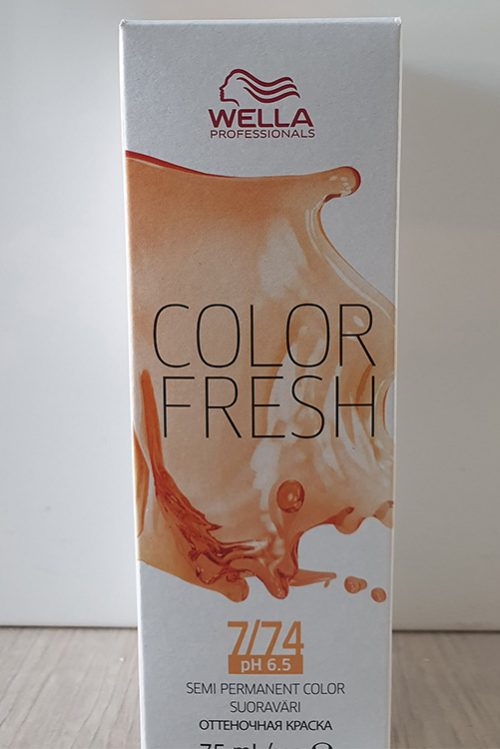 Wella Color Fresh 7/74
